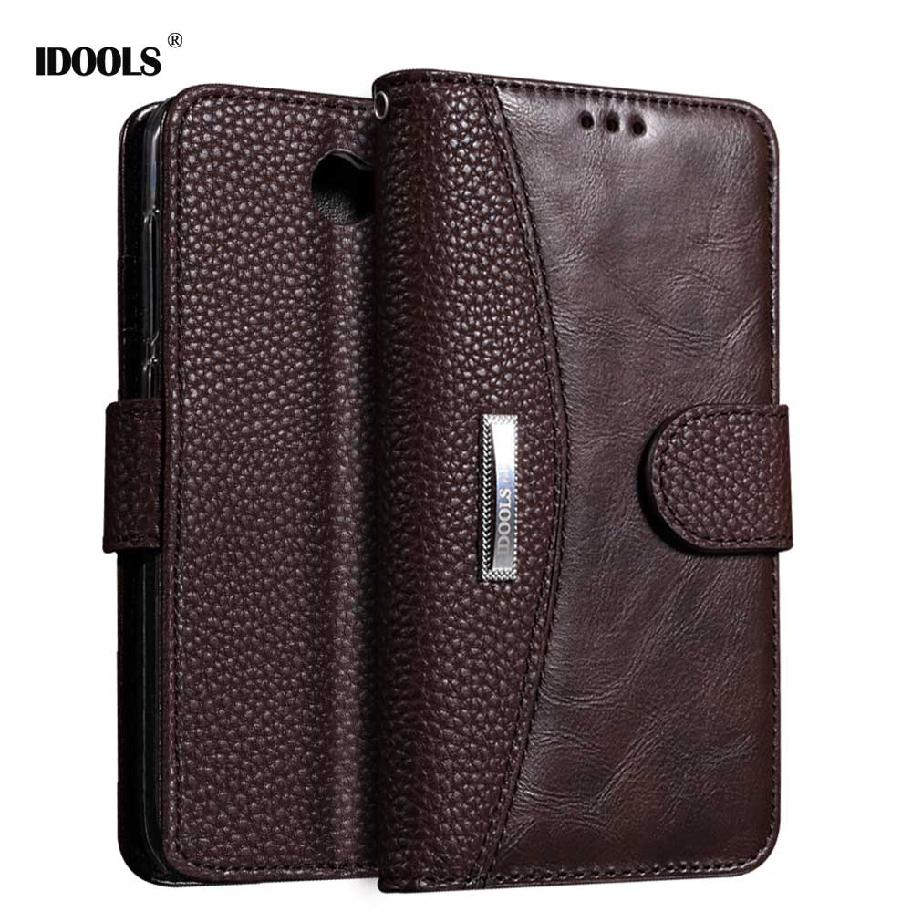Case for Huawei Y3 II PU Leather IDOOLS Brand Quality Picks Luxury Wallet Cover Phone Accessories Bags Cases for Huawei Y3 II 2