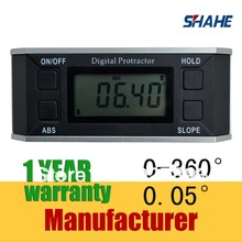 free shipping 360 degree Magnet base angle gauge level Electronic protractor digital protractor angle meter
