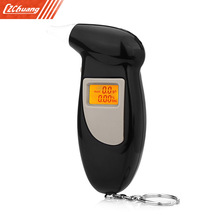 High Sensitive Digital Alcohol Tester LCD Backlight Display Breath Analyzer Portable Breathalyzer(China)