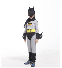 2017 New Childrens Super Hero Batmen Fancy Dress Costume Outfit   Birthday Party Halloween Children'Day Christmas