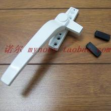 Aluminum Alloy flat open door and window hardware lock doors and windows seven zinc alloy handle(China)