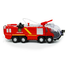 Children's Toy Car Electric Universal Water Spray Fire Fighting Vehicle Simulation Music Light