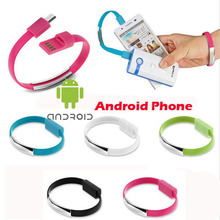 Buy 20cm Bracelet Noodle Micro USB Charger Cable Charging Data Cord Samsung S7 S6 edge S4 Note 4 5 LG G3 XiaoMi Huawei HTC Meizu for $1.60 in AliExpress store