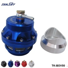 Tansky  -Universal 50mm Blow off valve universal BOV Turbo with aluminum flange For VW Golf Mk1 Turbo/Intercooler TK-BOV50