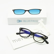Blue Ray Blocking Children Computer Glasses Size 48, Anti Blue Lights Gaming Glasses, Radiation Free Kids Students Spring Hinge(China)
