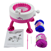 DIY Manual Hats Scarves Knitting Machine Toys For Kids Gifts Children Girls Weaving Loom Toy W/ Wool Smart Weaver(China)