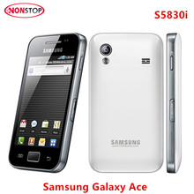 S5830i Original Samsung Galaxy Ace S5830 Cell Phone Android 5MP WIFI GPS Unlocked Mobile Phone Free Shipping(China)