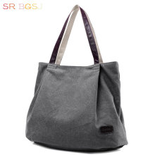 Free Shipping Beautiful Lady Shoulder Bag Tote Canvas Women Hobo Bag Working Day Pack Shopping Bag