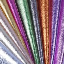 1 Meter Thin Artificial Leather Cloth Colorful Pvc Leatherette Mirror Fabric Glitter Belt Faux Leather Suppliers Tissus Cuire