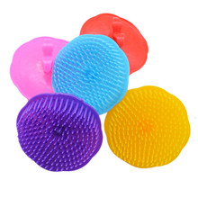 Shampoo Bath Washing Hair Massage Brush Massager Comb Scalp Brush Shower Body Head Hair Care Massager Relax Tool Random Color
