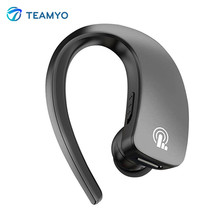 Teamyo Q2 Mini Bluetooth Earphone Wireless Headphones bluetooth handsfree headset With Mic Noise Cancelling Touch Button Earbuds(China)