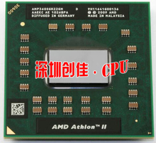 original AMD Athlon P360 CPU AMP360SGR22GM 25w Dual core Socket S1 2.3G P340 P560 P540 P860