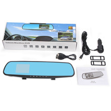 Top Quality Car DVR 1080P 2.8 inch HD LCD Car Mirror Camera HD Vehicle DVR Cam Recorder Dashboard  #0510