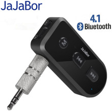 JaJaBor Bluetooth Aux Audio Receiver Adapter Bluetooth Car Kit Handfree Wireless Music Receiver Support IOS SIRI For iphone Ipad