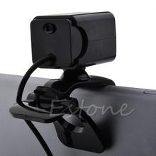 Brand New TOP Quality Black USB 2.0 4 LED HD Webcam Web Cam Camera with MIC For Laptop Desktop ComputerGAF5