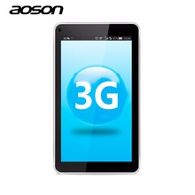2G 3G Phone Call Aoson 7'' S7 8GB Quad Core IPS Screen Google Android 5.1 Tablet PC Dual Camera Bluetooth 4.0 One Year Warranty