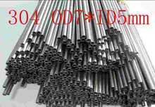 OD7XID5mm,304 321 316 thick wall or thin wall small tube corrosion resistance to acid and alkali Capillary stainless steel pipe