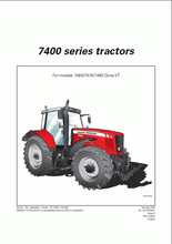 Massey Ferguson Repair Manuals UK 2017(China)