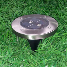 108pcs/lot Solar Lawn Lamp Waterproof Solar Powered Outdoor Path Garden Patio Landscape Solar Floor Lamp Lights(China)