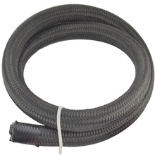 Top Quality AN 10 Cotton Over Braided Fuel Oil Hose Pipe Tubing Light Weight Oil Hose Line Black Hose End