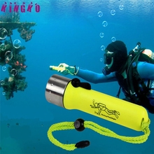 High Quality  torcia subacquea dive light Underwater 1200LM CREE XM-L XPE LED Diving Flashlight Torch Lamp Light Waterproof