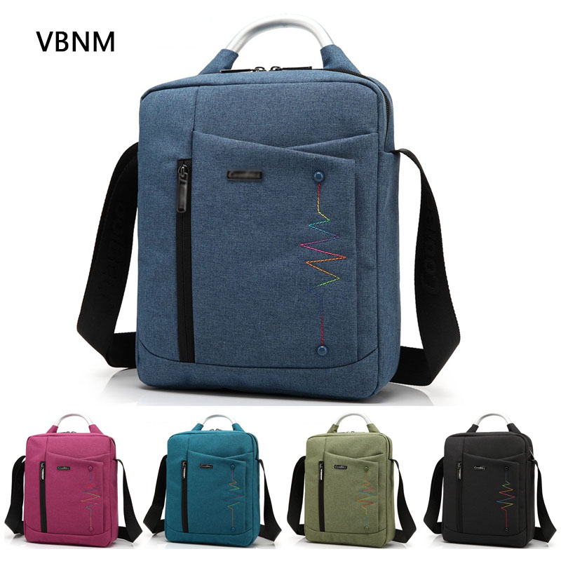 VBNM New Waterproof Wear Resistant Casual Laptop Liner Sleeve Case for Apple IPAD Mac 8 10 12 Inch Tablet Shoulder Crossbody Bag(China (Mainland))