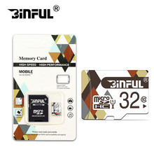 BiNFUL Class10 memory card 32GB micro sd card 128GB 64GB 16GB 8GB Microsd TF 4GB C6 cartao de memoria with retail package
