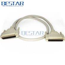 (50pieces/lot) DB62 62Pin to DB 62 Pin Male to Male cable 3m 10ft For SCSI ASPI Small Computer System Interface 3meters cables