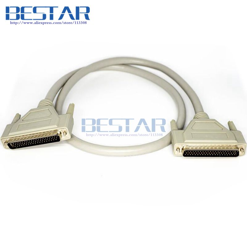 (50pieces/lot) DB62 62Pin to DB 62 Pin Male to Male cable 3m 10ft For SCSI ASPI Small Computer System Interface 3meters cables <br>