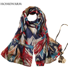 2017 spring luxury brand Women Scarves Print  Scarves Wraps Shawl Scarf Women Bufandas Mujeres Foulard scarves for women blanket