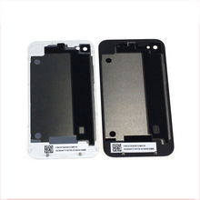 New Arrival Black/White Glass Battery Cover Housing Replacement + Screwdriver for iPhone 4G with Tool Hot Selling