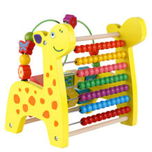 Multifunctional deer xylophone baby piano music toys for babies musical toys wooden educational toys music instruments for kids