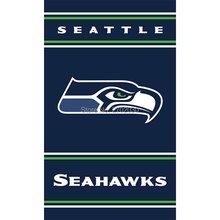 Seattle Flag Hanging Banner 3ft X 5ft Polyester Banner Flag Bowl Fan World Series Banners Football Seattle Flag