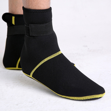 Neoprene Socks long Beach Non-slip Antiskid Snorkeling Scuba Diving Socks Boots Fins Flippers Wetsuit Seaside Shoes HW144(China)