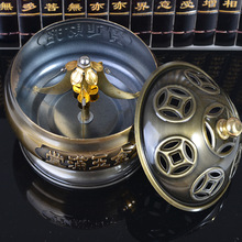Alloy Coil Incense Burner A Thriving Business Censer Home Furnishing Decoration Three Size Can Be Chosen Hot Sale E $(China)