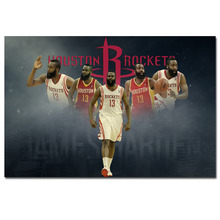 James Harden NBA Stats Basketball Poster Canvas Picture Print for Room Decor(China)