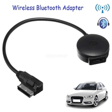 DHL 10PCS Wireless Bluetooth Dongle Adapter USB LED Charger Stick MP3 for Android iPhone iPod Touch iPad Auto Audi(China)