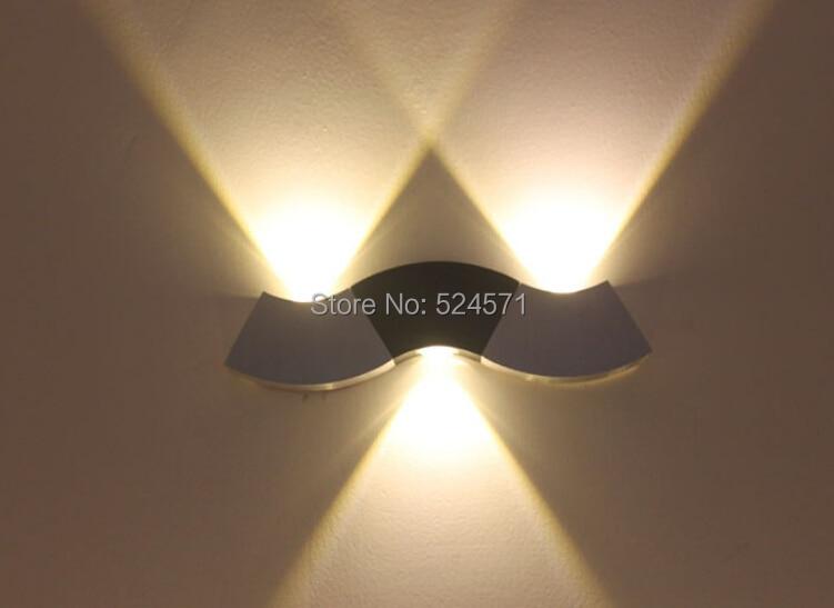 Free Shipping 3X3W led wall light AC85-265V restroom bathroom bedroom reading wall lamp decoration light<br><br>Aliexpress