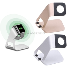 2in1 Aluminum Desk Charging Stand Holder Charger Dock For Smart Watch For iPhone For Samsung #R179T# Drop shipping