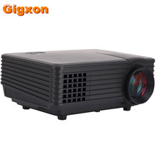 Gigxon - 800*480 support Full HD 1080P High Definition Real Practical TS805A mini Android LED Projector