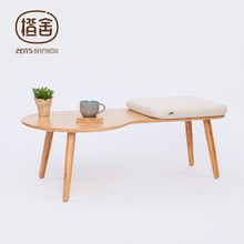 ZEN'S BAMBOO Coffee Table Assembly Tea Table Modern Simple Design Stool Table Living Room Balcony Outdoor Tatami Home Furniture(China)
