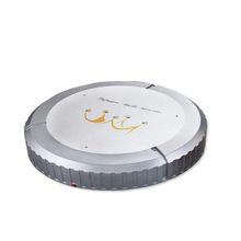 Anti Collision Vacuum Cleaner Portable Sweeping Robot Smart Vacuum Sweeper broom Household Vacuum Cleaner Powered by Battery(China)
