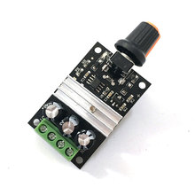 DC 6V 12V 24V 28VDC 3A 80W PWM Motor Speed Controller Regulator Adjustable Variable Speed Control With Potentiometer Switch(China)