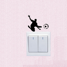Simple Football Player Fashion Switch Decals Wall Stickers Vinyl 5WS0732