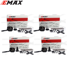 4pcs/lot Original EMAX 3110 480KV 700KV MT3110 2CW 2CCW Brushless Motor for RC FPV Multicopter Quadcopter(China)