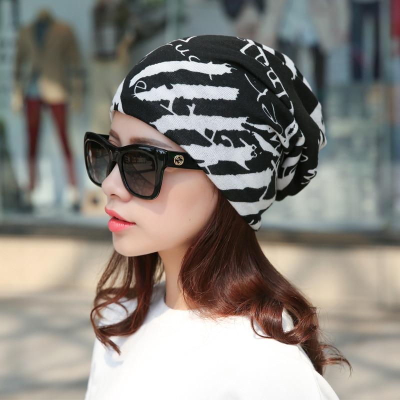 Winter Cap Stripe Star Turban Hat Bib Gorro Casual Elastic Women Womens Hip Hop Warm Hat Female Beanies #CAP6A56Îäåæäà è àêñåññóàðû<br><br><br>Aliexpress
