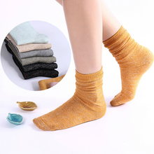 Bright Sweet Colorful Colors Women Spring Autumn Classic Cotton Socks Middle Long Quality Fashion Sock Manufacturers Wholesale(China)