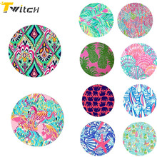 Tablets 25 pcs round patterns pop Expanding Stand Phone Holder finger holder for iPhone 8 7 6s Samsung Xiaomi Redmi huawei sony(China)