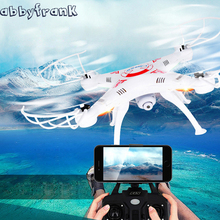 Abbyfrank X5C RC Real-time Transmission Helicopter Aircraft Drone With Camera 0.3MP HD 2.4G RC Toys 4 CH 6 Axis Gyro Quadcopter(China)