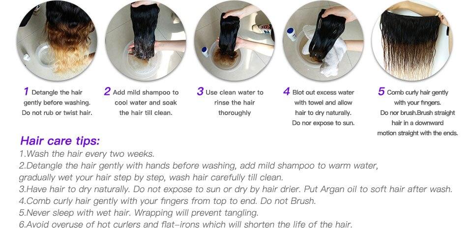 12  100% Human Hair Bundles With Closure 3 Bundles Peruvian Body Wave Hair Weaving Natural Black Remy Hair Extension